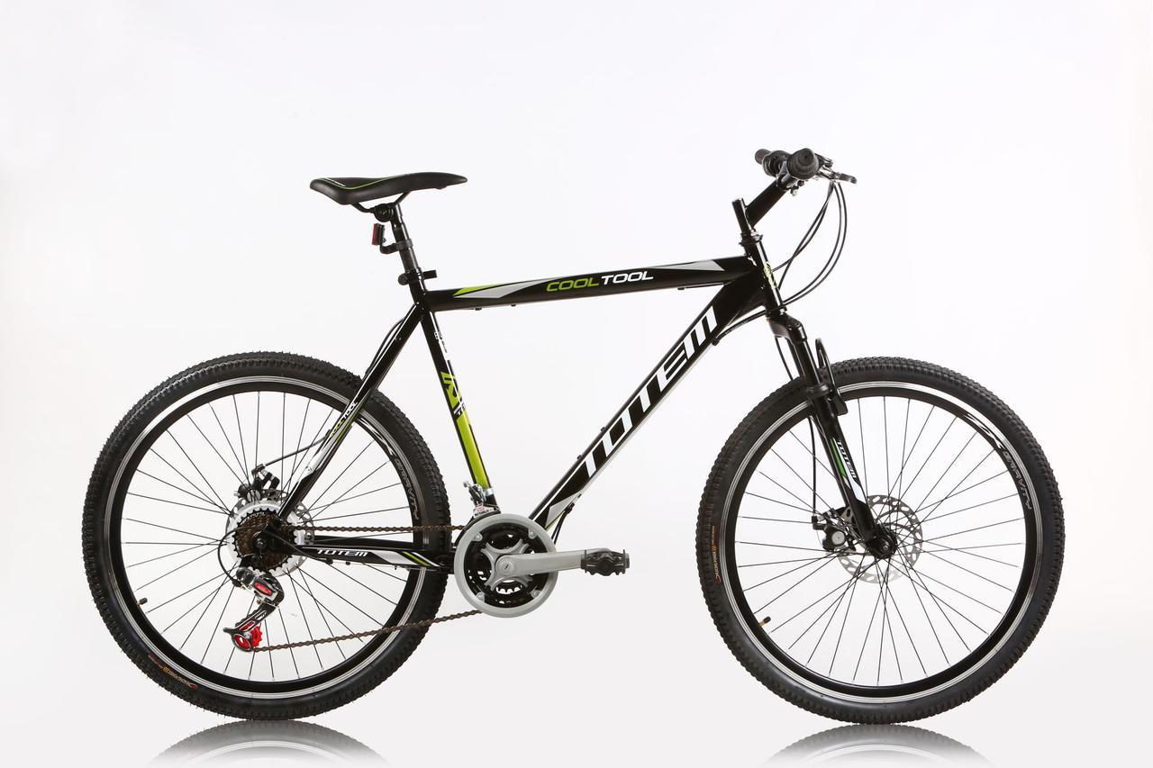 """Горный велосипед TOTEM MTB COOL TOOL 26""""  Черный/Белый"""