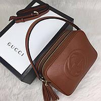 Сумочка Gucci кожа