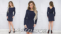 Блестящее женское платье с открытой спиной размеры S-L, фото 1