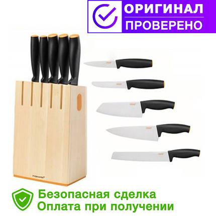 Набор кухонных ножей (5 шт) FISKARS FF (1014211), фото 2