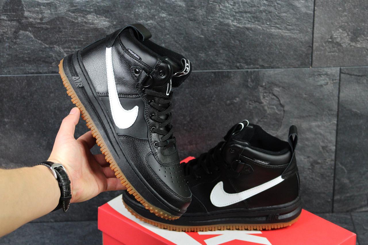 Мужские кроссовки Nike Lunar Force LF1 черные c белым ( Реплика ААА+) -  bonny bb9b29184de1a