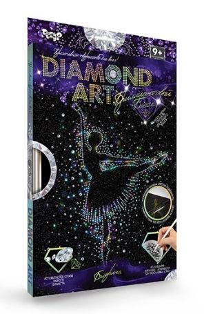 Набор для творчества DankoToys DT DAR-01-01 Diamond Art Картина со стразами Балерина