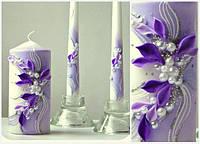 Набор свадебных свечей Bispol 3 шт (СC923-040)