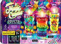 Набор для творчества DankoToys DT MgC-02-01 Candle Crystal Парафиновые свечки с кристалами