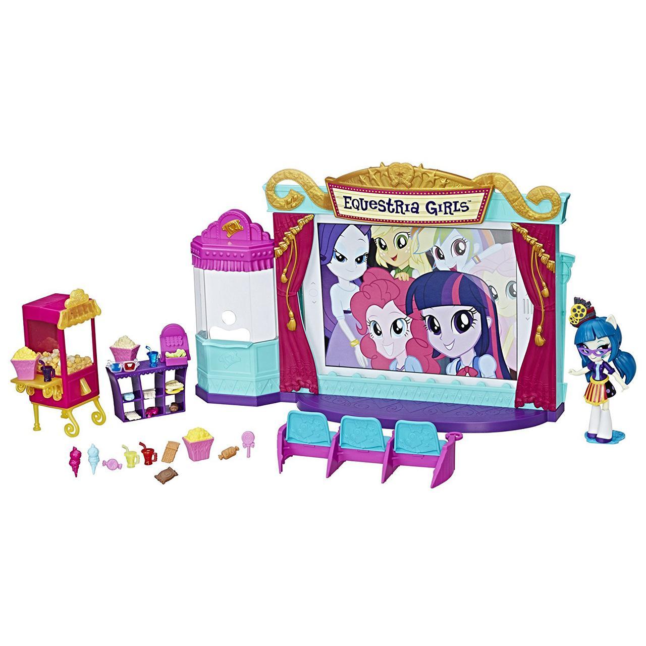 Игровой набор Кинотеатр Моя Маленькая Пони Минис My Little Pony Equestria Girls Minis Movie Theater