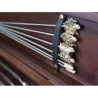 Комплект шампуров - Кабан - с разборным мангалом в кейсе из натурального дерева