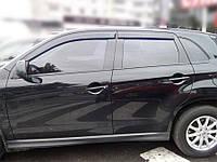 Дефлектори вікон (вітровики) Mitsubishi ASX 2010-, Cobra