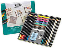 Карандаши набор 24цв. Derwent Colour Collection в мет.кор.D-0700212