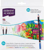 Карандаши цветные 24цв. Derwent Academy в картонной коробке D-2300089