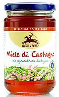 Органический мед каштановый, Alce Nero, 400 гр