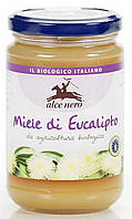 Органический мед эвкалиптовый, Alce Nero, 400 гр