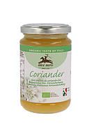 Органический мед, кориандр, Alce Nero, 400 гр