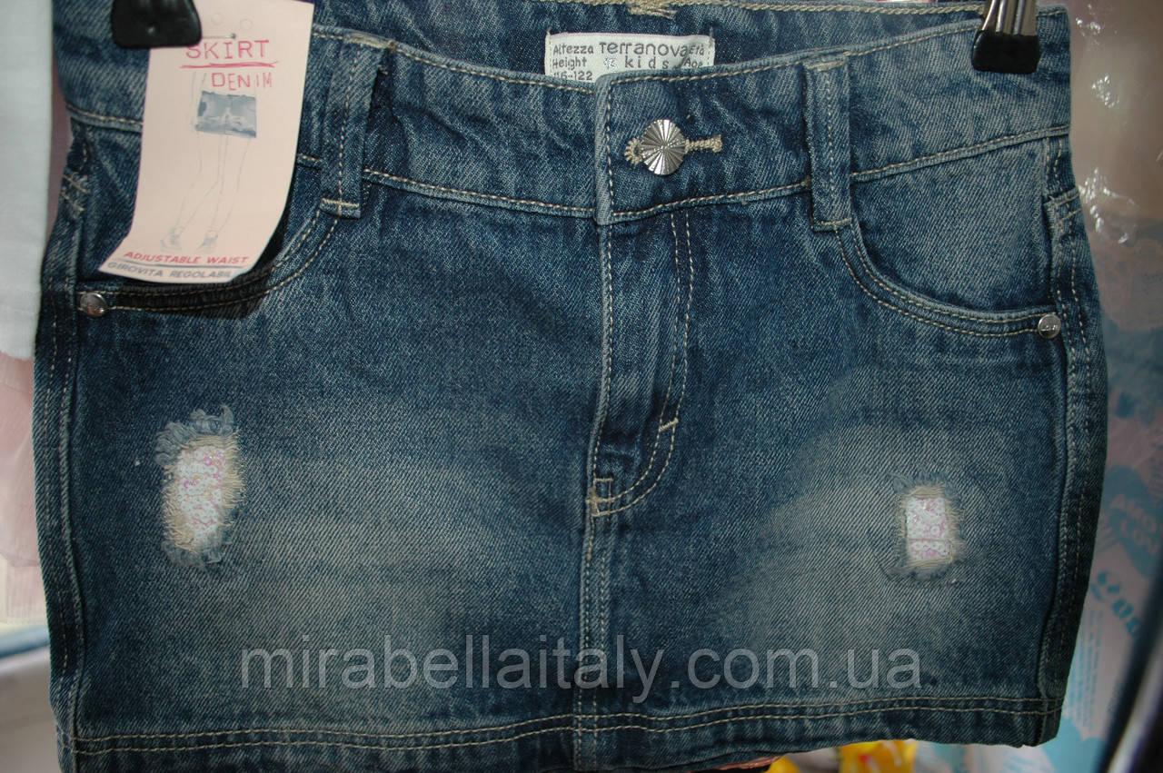 Юбка Teranova джинсовая  для девочки