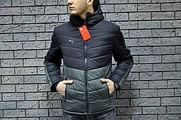 Мужская демисезонная куртка (весенняя, осенняя) Puma