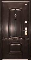 Китайские, металлические, входные уличные двери 86 левая