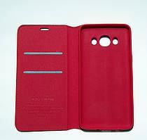 Чехол-книжка для смартфона Samsung Galaxy J5 2016 J510 красная MKA