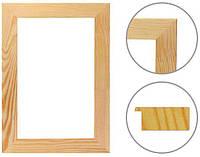 Рамка багетная для декорирования Rosa Studio Классик клееная (17*40 мм) 25*25 см. GPK174002525