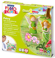 Глина полимерная FIMO kids набор 4шт. Фея 8036 04 LZ