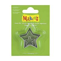Набор каттеров Makins 3шт Звезда 2118661043