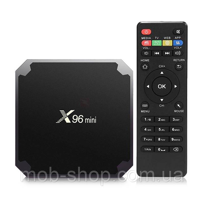 Смарт приставка Smart TV Box Android X96 Mini S905W 2гб/16гб