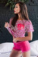 Пижама футболка+шорты