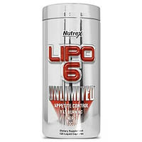Жиросжигатель для спортсменов Nutrex Lipo-6 Unlimited (120 капс.)