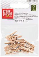 Прищепки мини дер. Knorr Prandell Набор 10шт 2,5см 218735734