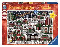 "Пазл ""Американское Рождество"" 1000 шт. Ravensburger (RSV-194445)"