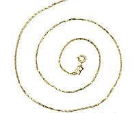 Цепочка позолота 14K gold color 50 см 44638, фото 1