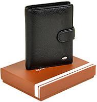 Вертикальный кожаный мужской кошелек SERGIO TORRETTI. Большой Кожаный бумажник. Кожаное мужское портмоне. СМ01, фото 1