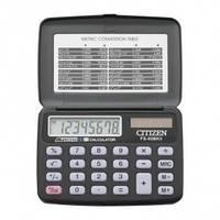 Калькулятор (Элемент питания и солнечная батарея питание) CITIZEN FS-60BK