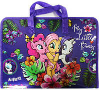 Портфель А4 Kite мод 202 My Little Pony пластик на молнии LP17-202-01