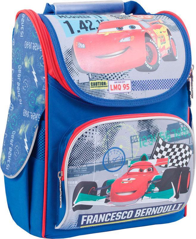 Рюкзак (ранец) 1 Вересня школьный каркасный Yes 553306 Cars H-11 34*26*14см