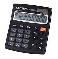 Калькулятор (Элемент питания и солнечная батарея питание) CITIZEN SDC-810BN