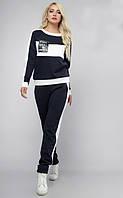 Спортивный костюм Кавалли норма темно синий, фото 1