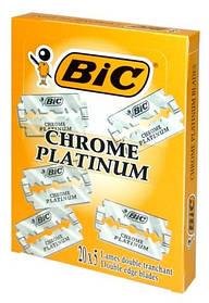Классические лезвия BIC Chrome platinum 100 шт