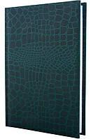 Ежедневник А6 Economix недатированный Croco зеленый E21728-04