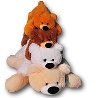 Мягкая игрушка Медведь лежачий Умка Бублик 45 см Плюшевый мишка