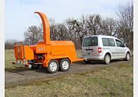 Дробилка,щепорез, измельчитель веток  дизельная РМ-160Д, фото 1
