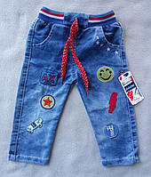 Детские джинсы для мальчиков 1-4 года