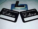 Бейджи металлические на магните с окном для сменного имени (изготовление за 1 час на оболони), фото 7