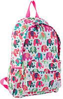 Рюкзак (ранец) школьный 1 Вересня Yes 553821 Elephant ST-15 40*26,5*13см