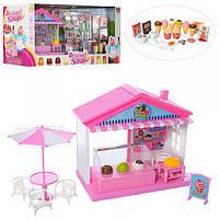 Магазин 71022-2 муз,свет,сладости,мебель,посуда,на бат,в кор-ке,59-27,5-17,5см