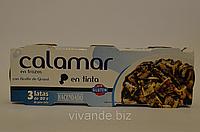 Кальмар с чернилами каракатицы, 80 г  Испания (цена за 1 шт), фото 1