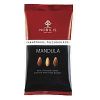 Конфеты-драже Nobilis миндаль в молочном шоколаде с какао порошком 100г (5997690702053)