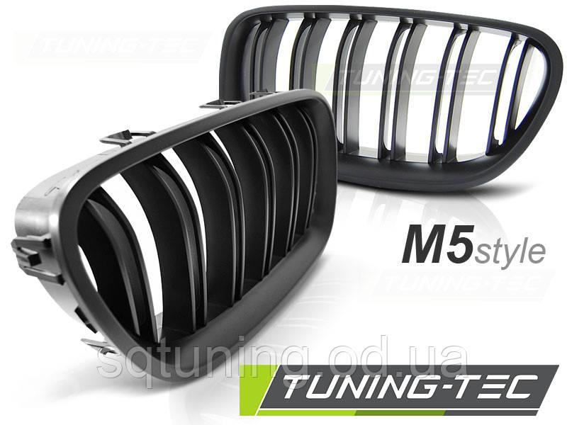 Решетка радиатора BMW F10 / F11 10- M5 LOOK MATT BLACK