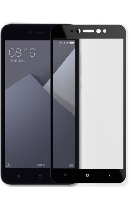 Защитное стекло 3D для Xiaomi Redmi 5a (Black)