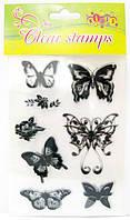 Штампы силиконовые Kidis 11*15см бабочки 8260