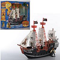 Набор пиратов M 0516 U/R   в кор-ке, 41-36-13см, игрушка, игра, игрушечный корабль