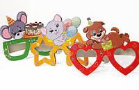 Набор аксессуаров для детского праздника Фолдер очки 6 шт 691861